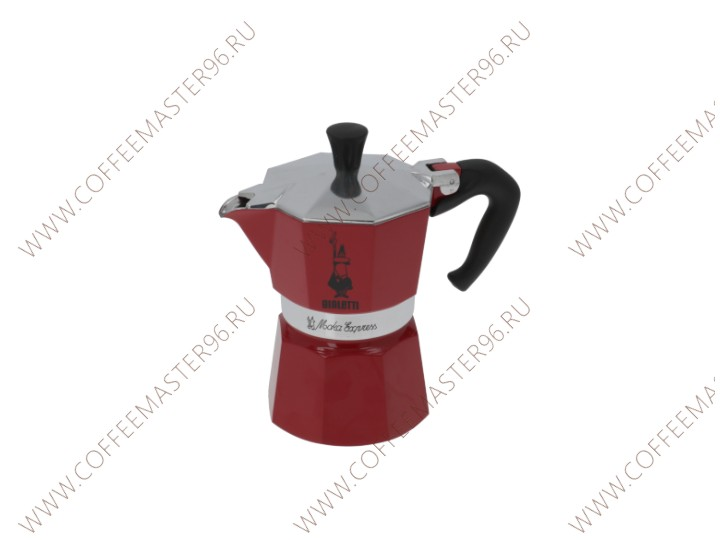 MOKA EXPRESS 3 CUPS RED BIALETTI